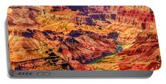 Colorado River 1 Mi Below 100 Miles To Vermillion Cliffs Utah Portable Battery Charger