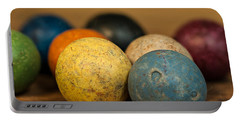 Colored Clay Marbles Portable Battery Charger