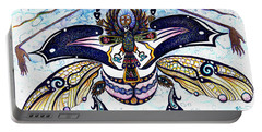 Colored Cultural Zoo B Sacred Scarab Portable Battery Charger