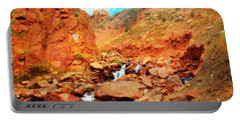 Colored Falls Portable Battery Charger