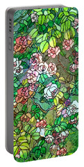 Colored Rose Garden Portable Battery Charger