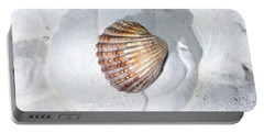 Colored Seashell  Portable Battery Charger