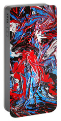 Colorful Chaos Portable Battery Charger