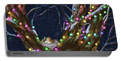 Colorful Christmas Portable Battery Charger