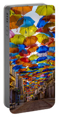 Colorful Floating Umbrellas Portable Battery Charger