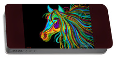 Colorful Horse Head 2 Portable Battery Charger