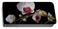 Colorful Moth Orchid Portable Battery Charger