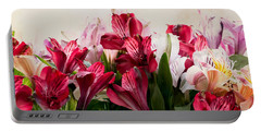 Colorful Peruvian Lillys Portable Battery Charger