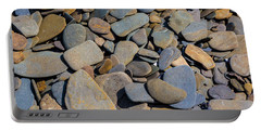 Colorful River Rocks Portable Battery Charger