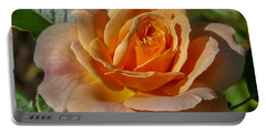 Colorful Rose Portable Battery Charger by Jane Luxton