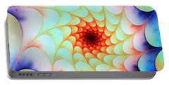 Colorful Web Portable Battery Charger by Anastasiya Malakhova