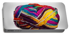 Colorful Yarn Portable Battery Charger