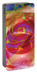 Colorfull Rose Portable Battery Charger