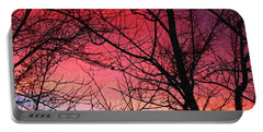 Colors Of Dusk Portable Battery Charger