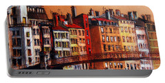 Colors Of Lyon I Portable Battery Charger
