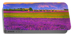 Colors Of Provence Portable Battery Charger by Midori Chan