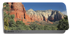 Portable Battery Charger featuring the photograph Colors Of Sedona by Penny Meyers