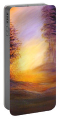 Colors Of The Morning Light Portable Battery Charger