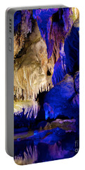 Colors Of The Pool Portable Battery Charger by Mark Dodd