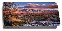 Colors Of Winter Portable Battery Charger by Mark Myhaver