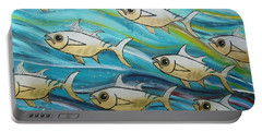 Coloured Water Fish Portable Battery Charger
