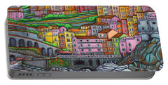 Colours Of Manarola Portable Battery Charger