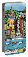 Colours Of Vernazza Portable Battery Charger