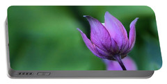 Columbine Flower Bud Portable Battery Charger