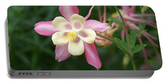Portable Battery Charger featuring the photograph Columbine by Kathryn Meyer