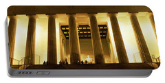 Columns Surrounding A Memorial, Lincoln Portable Battery Charger by Panoramic Images
