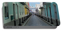 Portable Battery Charger featuring the photograph San Juan Puerto Rico by Roberta Byram