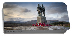 Commando Memorial At Spean Bridge Portable Battery Charger