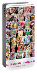 2015 Commemorative Breast Strokes Poster Portable Battery Charger
