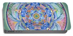 Compassion Mandala Portable Battery Charger