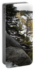 Portable Battery Charger featuring the photograph Composition At Lower Falls by Michele Myers