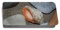 Portable Battery Charger featuring the photograph Conch 1 by George Katechis