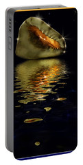 Portable Battery Charger featuring the photograph Conch Sparkling With Reflection by Peter v Quenter