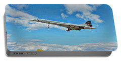 Concorde On Finals Portable Battery Charger