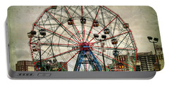 Coney Island Wonder Wheel  Portable Battery Charger