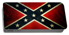 Confederate Flag 4 Portable Battery Charger