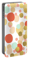 Confetti- Abstract Art Portable Battery Charger