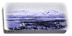 Portable Battery Charger featuring the photograph Connemara Shore by Jane McIlroy