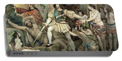 Conquest Of Mexico Hernando Cortes Portable Battery Charger