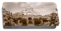 Conservatory- Sepia Portable Battery Charger