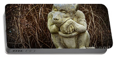 Contemplating Autumn Portable Battery Charger by Mary Machare