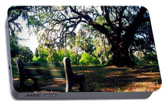 Portable Battery Charger featuring the photograph New Orleans Contemplating Solitude by Michael Hoard