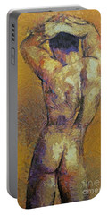 Content With Life Portable Battery Charger by Dragica  Micki Fortuna