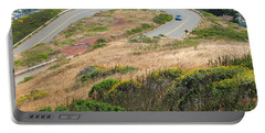 Portable Battery Charger featuring the photograph Cool Drive On Twin Peaks - San Francisco by Connie Fox