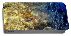 Portable Battery Charger featuring the photograph Cool Waters...of The Rifle River by Daniel Thompson