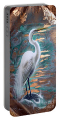 Copper Egret Portable Battery Charger